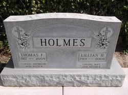 Thomas F Holmes