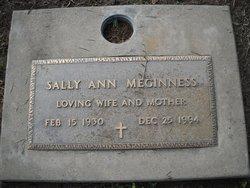 Sallie Ann <i>Caywood</i> Meginness