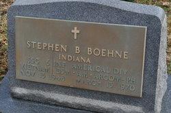 Sgt Stephen Bruce Boehne