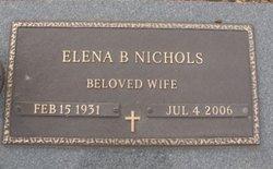 Elena <i>Bumgarner</i> Nichols