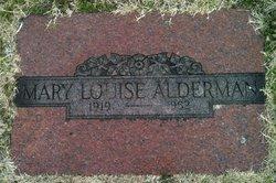 Mary Louise Alderman