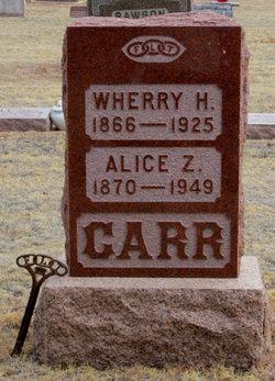 Alice Z. Carr