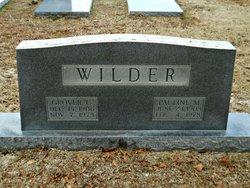 Pauline M Wilder