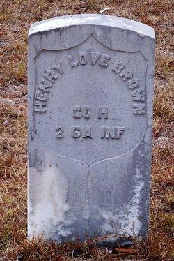 Henry Love Brown