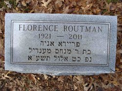 Mrs Florence <i>Hollander</i> Routman