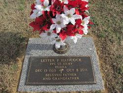PFC Lester F. Hancock
