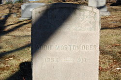 Addie <i>Morton</i> Ober