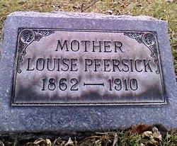 Louise A Pfersich