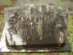 Sarah <i>A</i> Armstrong