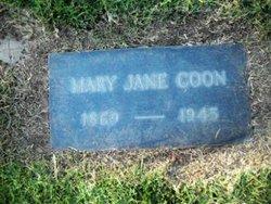 Mary Jane <i>Mcintyre</i> Coon