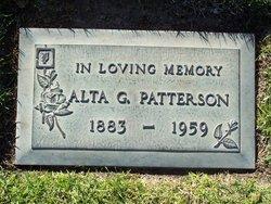 Alta Gertrude <i>Parriott</i> Patterson