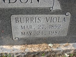 Burris Viola McClendon