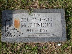 Colton David McClendon