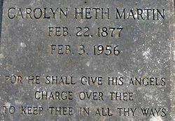 Carolyn <i>Heth</i> Martin