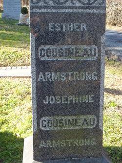 Esther <i>Cousineau</i> Armstrong