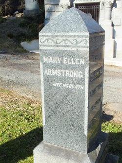 Mary Ellen <i>McBeth</i> Armstrong
