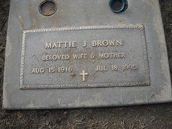 Mattie Jane <i>Short</i> Brown