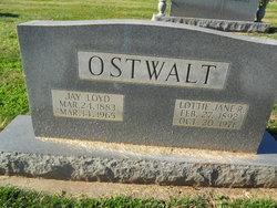 Lottie Jane <i>Robbins</i> Ostwalt