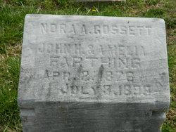 Nora A. <i>Farthing</i> Gossett
