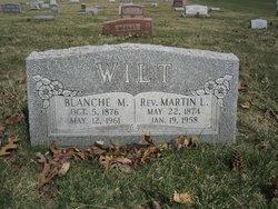 Rev Martin Luther Wilt