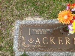 Wallace Milton Ack Ackerman