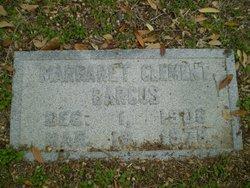 Margaret Burke <i>Clement</i> Barcus