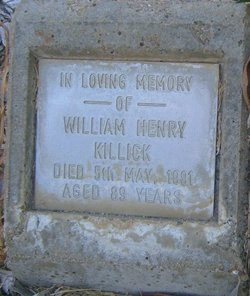 William Henry Harry Killick