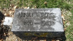 Anna E Royse