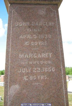 Margaret <i>McBean</i> Barclay