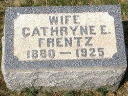 Cathryne E <i>Stephens</i> Frentz