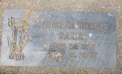 A Lucille <i>Herger</i> Baker