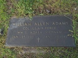 William Allen Adams