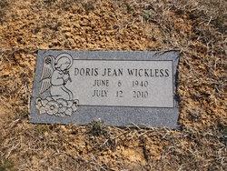 Doris Jean Wickless
