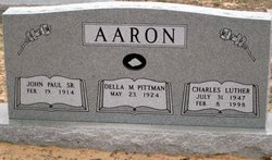 Della Marie <i>Pittman</i> Aaron