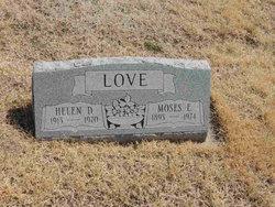 Moses E Love