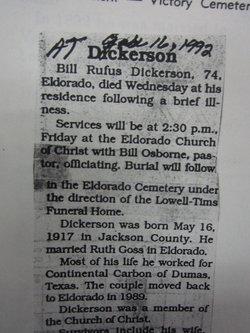 Bill Rufus Dickerson
