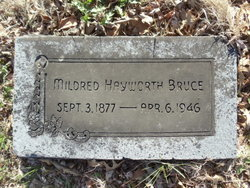 Mildred A. <i>Hayworth</i> Bruce
