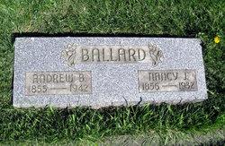 Nancy Jane Caroline <i>Wills</i> Ballard