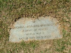 Thomas Leonard Breedlove