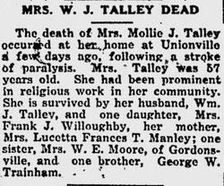 Mollie J. Talley