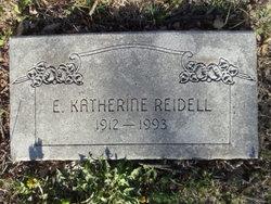 E. Katherine <i>Jones</i> Reidell