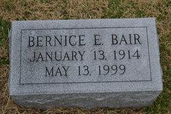 Bernice E Bair
