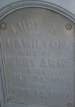 Lucy H <i>Hamilton</i> Arms