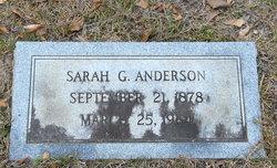 Sarah <i>Gaskin</i> Anderson