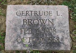 Gertrude L. <i>Howard</i> Brown