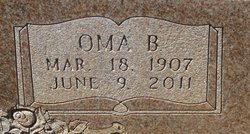 Oma <i>Thedford</i> Greer