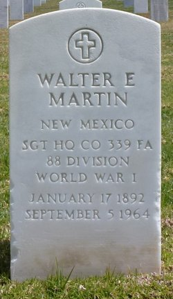 Walter E Martin