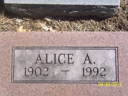 Alica A. Davis