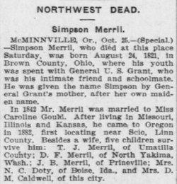 Simpson Merrill