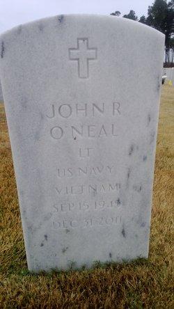 Lieut John Robert Bobby O'Neal, Sr
